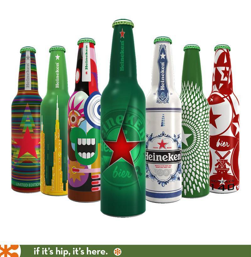 Heineken shrink sleeve