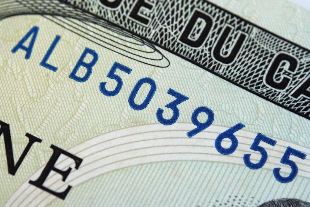 Close up of U.S. Dollar Bill