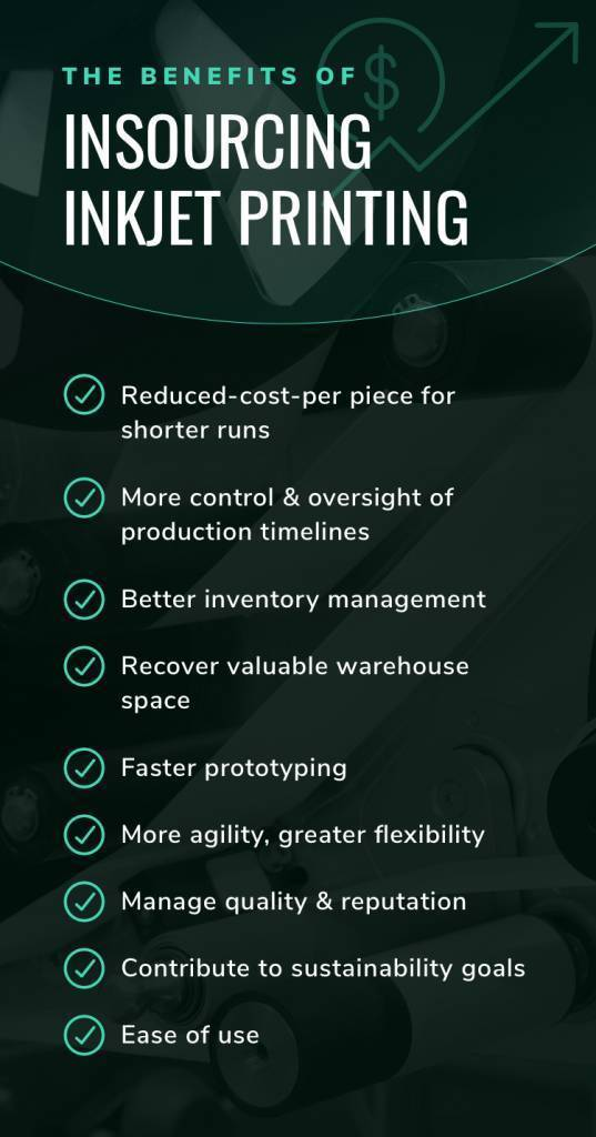 benefits of insourcing inkjet printing mobile