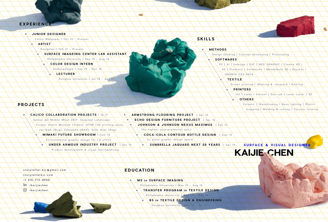 Kaijie Chen resume