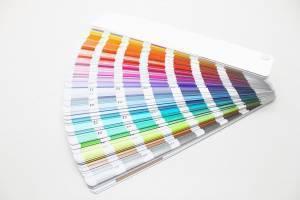 color swatchess for pantone spot colors
