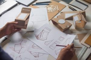 creating and designing packaging prototypes