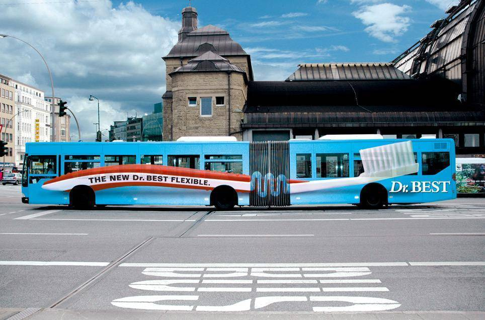 dr-best-bus-flexible-toothbrush-innovative-bus-wrap-design