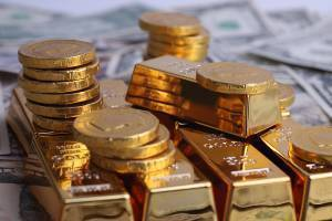 gold coins and bullion
