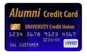metallic ink on credit card
