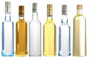 different bottle types that require direct to object printing