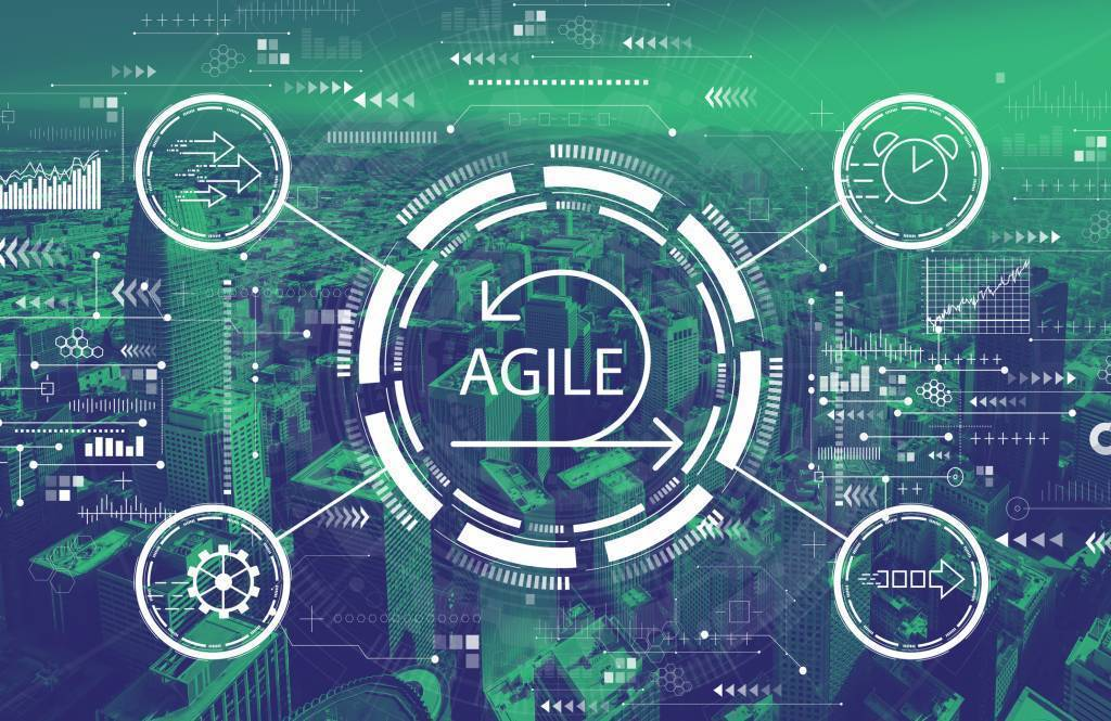 illustration of the agile process