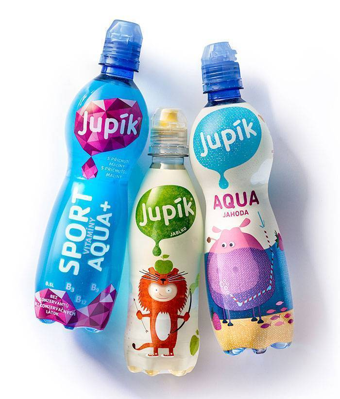 Jupik beverage shrink sleeve
