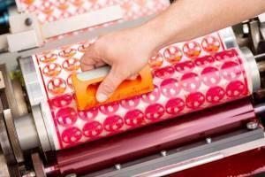 Preparing a flexographic printing pate