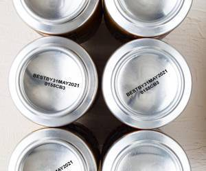 soda cans printed with Funai inkjet cartridge and nexxo ink