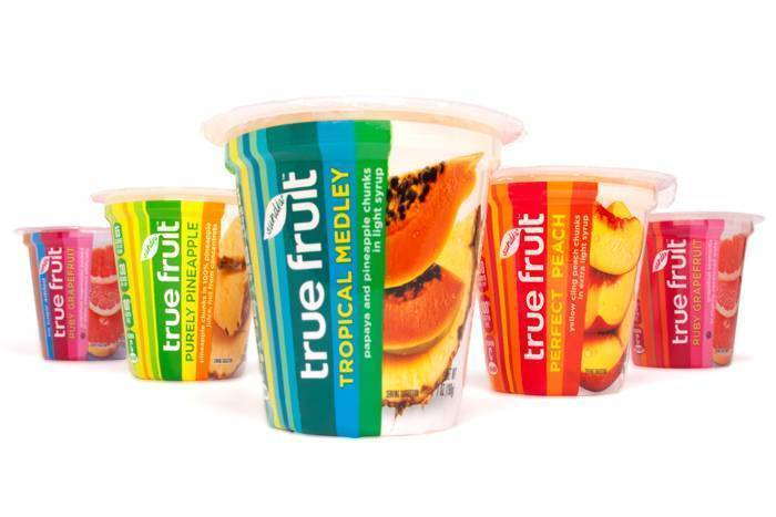 True Fruit shrink sleeve