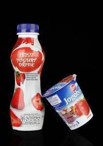 yogurt with shrink sleeve
