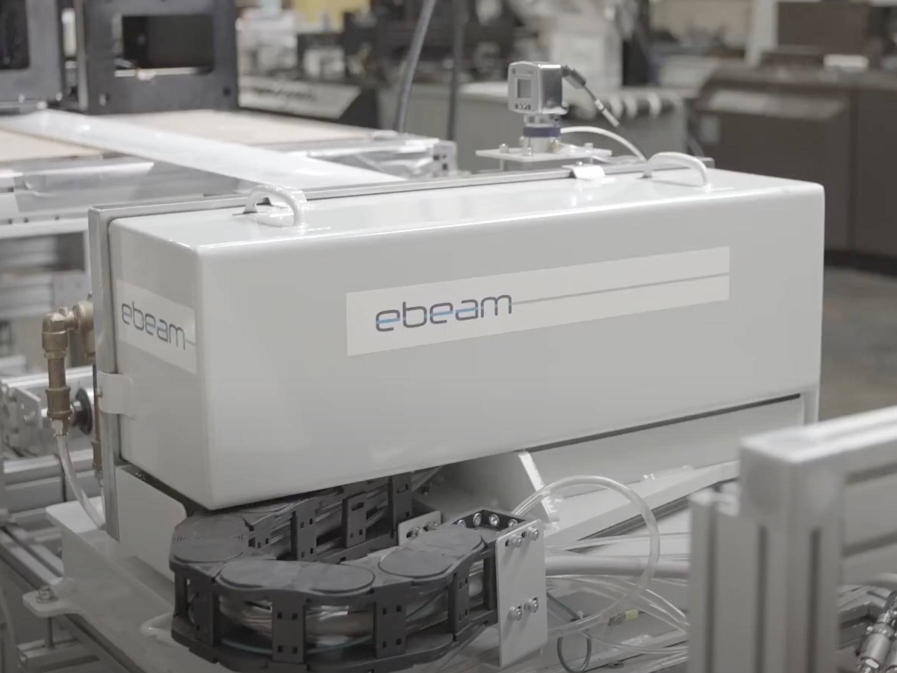 an electron beam curing machine for eb curable inks and eb printing systems