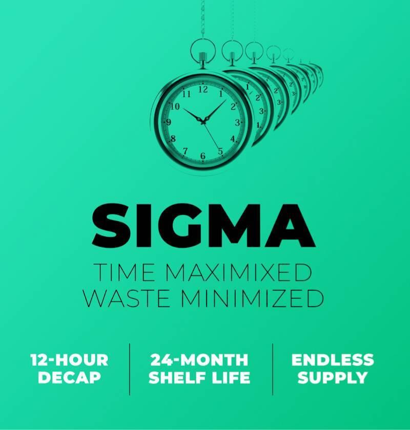 SIGMA ink advertisement